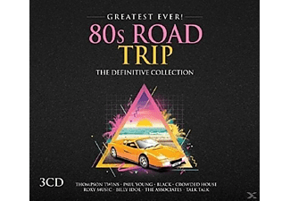 VARIOUS - 80s Road Trip- Greatest Ever - (CD)