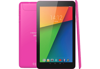 HOMETECH Easy Tab 7 inç New Edition Intel Atom X3 C3130 Sofia 512 MB 8 GB Tablet PC Pembe