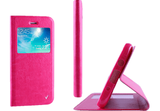 VOLTE-TEL Θήκη Samsung Galaxy A5 2016 A510 Leather-TPU View Book Stand Pink (5205308160820)