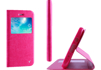 VOLTE-TEL Θήκη Samsung Galaxy A3 2016 A310 Leather-TPU View Book Stand Pink (5205308160790)
