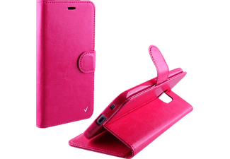VOLTE-TEL Θήκη Samsung Galaxy J1 2016 J120 Leather-TPU Book Stand Pink  (5205308162381)