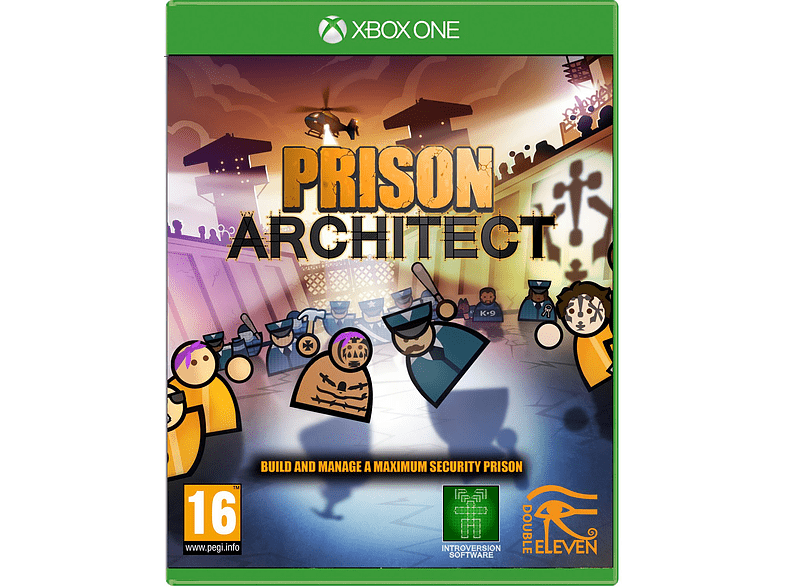 Prison Architect gaming   offline microsoft xbox one παιχνίδια xbox one gaming games xbox one gam