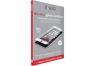ZAGG Contour Glass iPhone 6/6s - Vit
