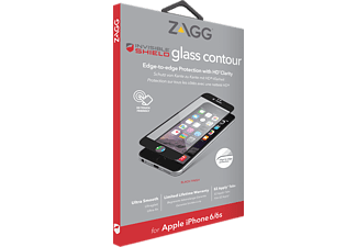 ZAGG Contour Glass iPhone 6/6s Svart