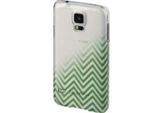 HAMA Blurred Lines Backcover Samsung Galaxy S5 Neo Kunststoff Grün