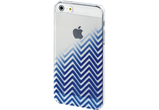 HAMA Blurred Lines Backcover Apple iPhone 5, iPhone 5s, iPhone SE Kunststoff Blau