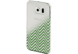 HAMA Blurred Lines, Backcover, Galaxy S6, Grün/Transparent