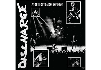 Discharge - Live At City Garden New Jersey - (Vinyl)