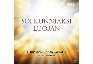 Matti Hyökki, Yl Male Voice Choir - Soi Kunniaksi Luojan - (CD)