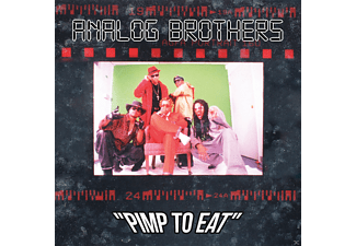 Analog Brothers (Kool Keith, Ice-T, Rex Dolby) - Pimp To Eat [CD]