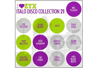 VARIOUS - ZYX Italo Disco Collection 21 - (CD)