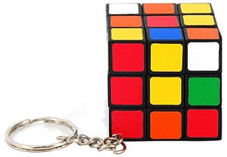 Rubik's Mini Keychain Carted/12-FT - (5010)