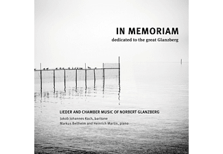 Jakob Johannes Koch, Heinrich Martin, Markus Bellheim - In Memorian - Dedicated To The Great Glanzberg - (CD)