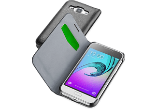 CELLULAR-LINE Book Essential Galaxy J1 (2016) Zwart