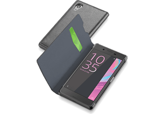 CELLULAR-LINE Book Essential Xperia X Zwart
