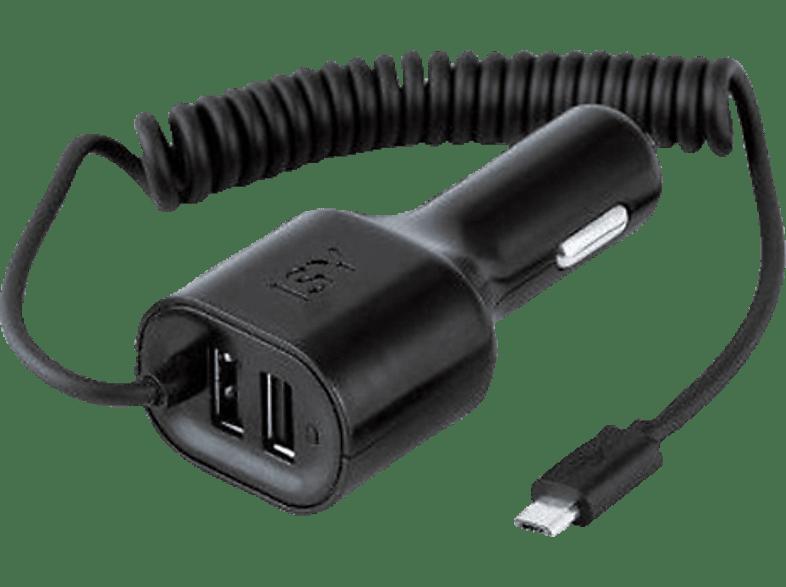 ISY Car Charger Dual USB 4.2A & Micro USB 2.1A - ICC 5000 smartphones   smartliving αξεσουάρ κινητών φορτιστές αυτοκινήτου τηλεφωνία   πλο