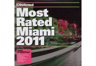 VARIOUS - Most Rated Miami 2011 - (CD)
