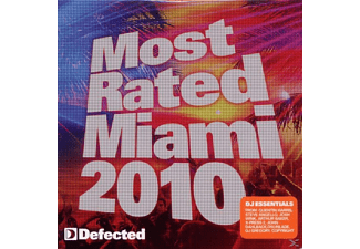 VARIOUS - Most Rated Miami 2010 - (CD)