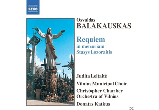 Vilnius Municipal Choir, Katkus/Christopher KO Vilnius - Requiem In Memoriam S.Lozorai - (CD)