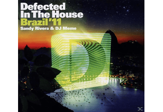VARIOUS, Sandy & Dj Meme (mixed By) Various/rivera - Defected In The House Brazil'11 - (CD)