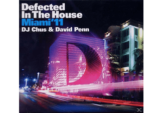 Dj Chus feat. David Penn, Various/DJ Chus & Penn,,David (Mixed By) - Defected In The House Miami'11 - (CD)