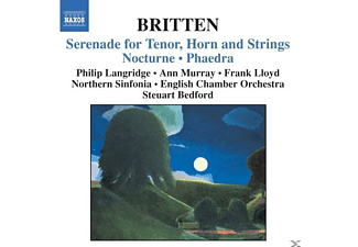 LANGRIDGE,PHILIP & MURRAY,ANN, Langridge/Murray/Lloyd/Bedford - Serenade/Nocturne/Phaedra - (CD)