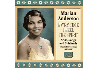 Marion Anderson, Marian Anderson - Ev'ry Time I Feel The Spirit - (CD)