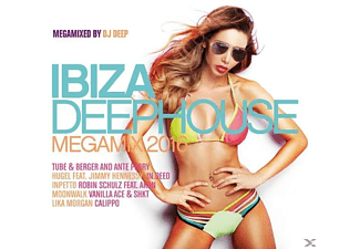 VARIOUS - Ibiza Deephouse-Megamix 2016 - (CD)