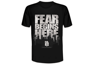Fear The Walking Dead T-Shirt Fear Begins Here