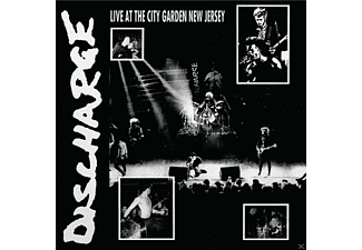 Discharge - Live At The City Garden New Jersey - (CD)