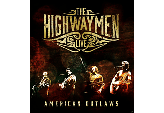 Highwaymen - Live-American Outlaws - (CD + Blu-ray Disc)