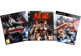 Tekken 6 + Soul Calibur 5 + Tekken Tag Tournament 2 PS3