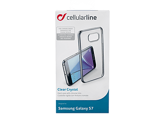 CELLULAR-LINE Clear Crystal Galaxy S7 Zwart