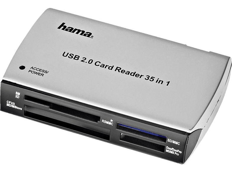HAMA 49009 65 in1 Card Reader/Writer, USB 2.0 computing   tablets   offline αξεσουάρ υπολογιστών άλλα αξεσουάρ laptop  tablet