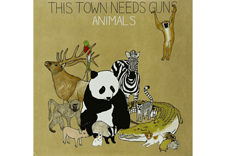 This Town Needs Guns - Animals - (Vinyl)