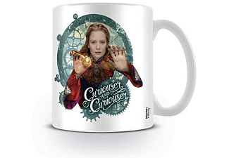 "Alice Through The Looking Glass Tasse ""Curiouser"""