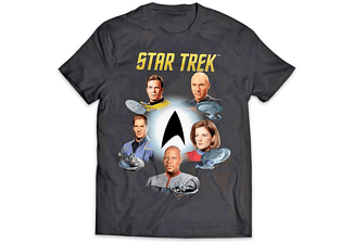 "Star Trek T-Shirt ""Captains"""