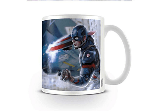 Captain America Civil War Tasse War Cap & Iron Man