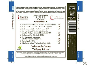 Wolfgang Dorner, Orchestre De Cannes - Ouvertüren Vol.1 - (CD)