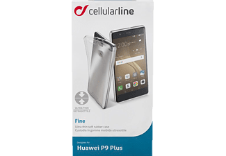 CELLULAR LINE FINE, Backcover, P9 Plus, Thermoplastisches Polyurethan, Transparent