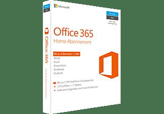 Microsoft Office 365 Home Abonnement - 1 Jahr (Code in a Box)