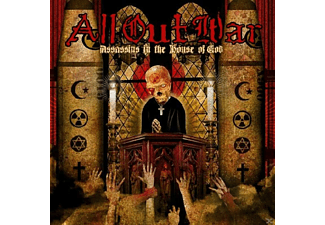 All Out War - Assassins In The House Of God (Limited Yellow Vinyl) - (Vinyl)