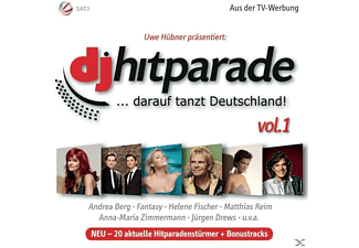 VARIOUS - Dj Hitparade Vol.1 2012 - (CD)