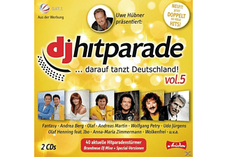 VARIOUS - Dj Hitparade Vol.5 - (CD)