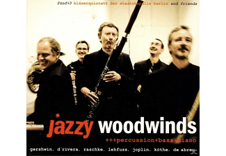 fünf+3/Bläserquintett der Staatskapelle Berlin and - Jazzy Woodwinds - (CD)