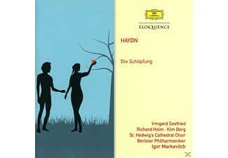 Irmgard Seefried, Richard Holm, Kim Borg, Igor Markevitch, Berliner Philharmoniker, St. Hedwig's Cathedral Choir - Die Schöpfung - (CD)