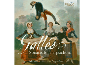 Michele Benuzzi - Sonatas For Harpsichord [CD]