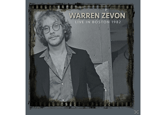 Warren Zevon - Live In Boston 1982 - (CD)
