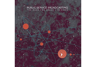 Public Service Broadcasting - The Race For Space/Remixes [CD]