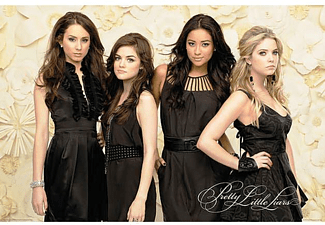 Pretty Little Liars Poster Black Dresses